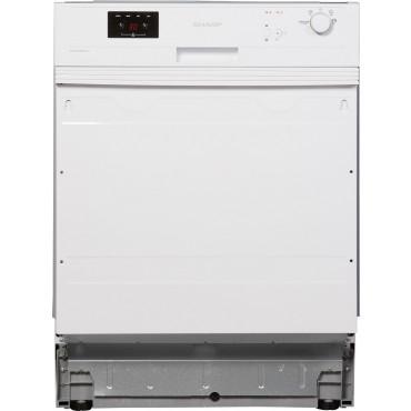 Sharp QW-GX13S472W Szabadonálló mosogatógép, A++, 60 cm