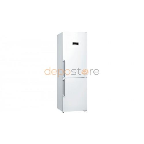 BOSCH KGN36XW35 alulfagyasztós hűtő, A++, 186 cm, No Frost