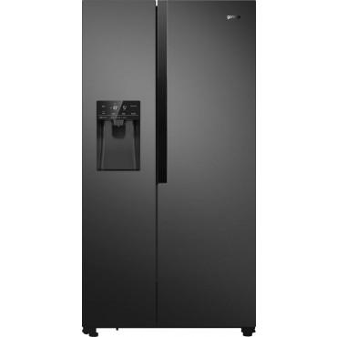 Gorenje NRS9182VB A++  SBS hűtőszerkény, fekete, A++ belső víztartály 610 liter Inverter