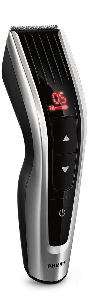 Philips hajvágó HC7460/15, 41 mm, rozsdamentes acélból készült vágópengék, vezetékes és vezeték nélküli