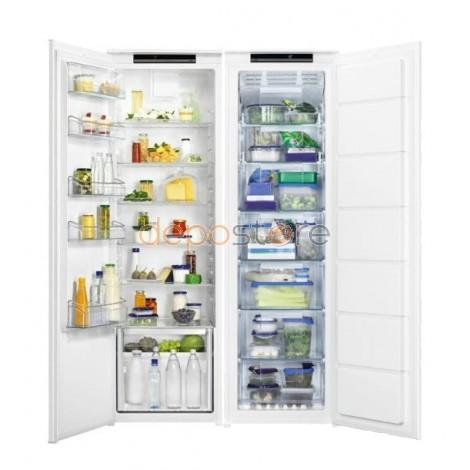 Progress PK1803 + Progress PG1804; Beépíthető Side by Side, külön-külön hűtő- és fagyasztószekrény, 310 liter + 240 liter