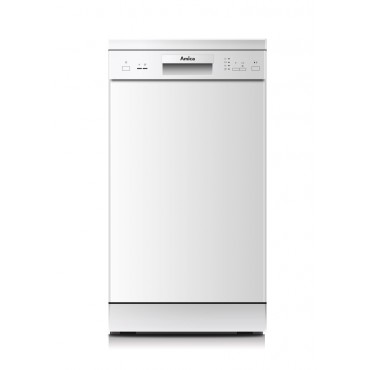 Amica GSP14746W szabadonálló mosogatógép, A++ Fehér, 45 cm