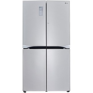 LG GLC8839SC A++ 4 ajtós SbS Hűtőszekrény 601L (401+200), No Frost, InstaView,  H 180 cm