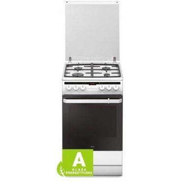 Amica 55344 kombinált tűzhely, fehér, 66l sütőtér