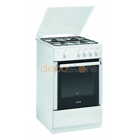 Gorenje G51101AW gáztűzhely 50 cm Fehér