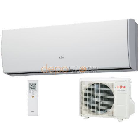 Fujitsu ASYG09LUCA/AOYG09LUCB 2,5 kW hűtés oldalfali Inverteres splitklíma