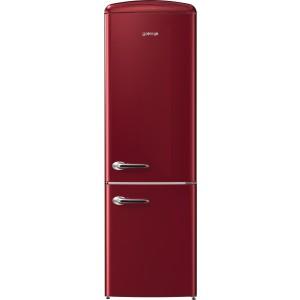 Gorenje ONRK193R A+++ Retro Alulfagyasztós hűtőszekrény Nofrost,