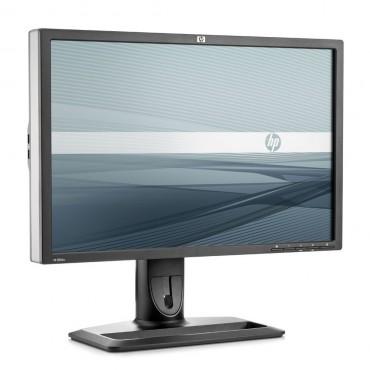 """LCD HP 24"""" ZR24W; black/silver, B+;1920x1200, 1000:1, 400 cd/m2, VGA, DVI, DisplayPort, USB Hub, AG"""