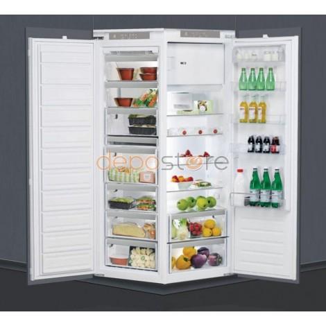 Whirlpool ARG18480 + AFB1843A Beépíthető Side by Side, külön-külön hűtő- és fagyasztószekrény, 310 liter + 240 liter