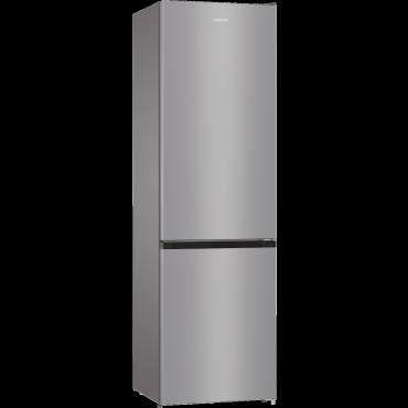 Gorenje NRK6202ES4 Alulfagyasztós Hűtőszekrény NoFrost 200cm