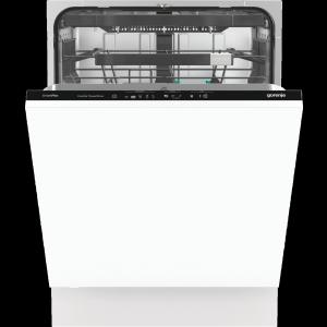 Gorenje GV671C61 Integrált mosogatógép Inverter motor 16 teríték