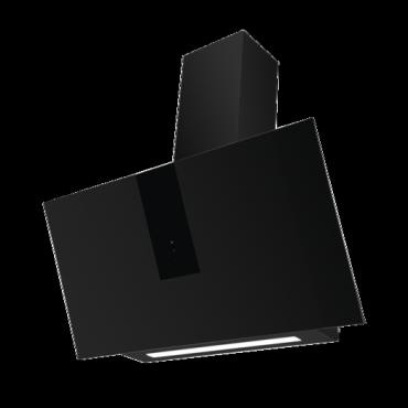 Amica KHF686600S Páraelszívó Ferde Fekete Üveg 80cm