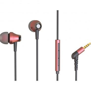 Buxton BHP 4020 mk2 Piros Fülhallgató mikrofonnal
