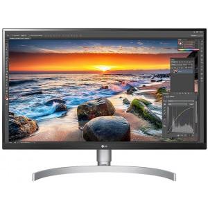 """LG 27UN83A LED Monitor, IPS, 27"""", 4K UHD, 3840x2160, VESA DisplayHDR400, Radeon FreeSync, USB Type-C, HDMI, DisplayPort, ergonomikus állvány"""