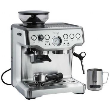 SAGE BES875BSS Eszpresszó kávéfőző kávédarálóval