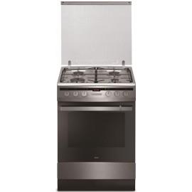 Amica 55701/54042 kombinált tűzhely, 60 cm széles INOX programosható sütő