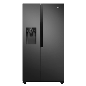 Gorenje NRS9182VB Side by side típusú hűtőszerkény, fekete, A++ belső víztartály