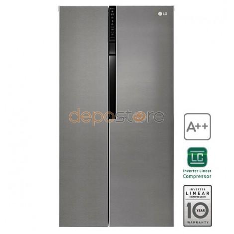 LG GSB360BASZ Amerikai hűtőszekrény A++ SBS