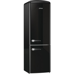 Gorenje ORK192BK Szabadonálló alulfagyasztós hűtőszekrény,