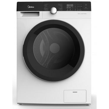 Midea MFK80-U1401B - 8kg, 1400rpm - Slim elöltöltős mosógép, A+++ Inverter, 5 ÉV Garancia!