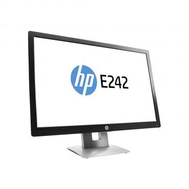 "LCD HP 24"" E242; black/gray, B+;1920x1200, 1000:1, 250 cd/m2, VGA, HDMI, DisplayPort, USB Hub, AG"