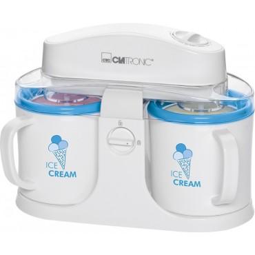 Clatronic ICM 3650 Fagylalt készítő Sorbet-Fagylalt-Fagyasztott készítő joghurt Fehér