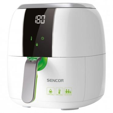 SENCOR SFR 5320WH Forrólevegős fritőz 3 liter