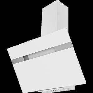 AMICA KH17405 Ferde páraelszívó, 90 cm, 485 m3 Fehér üveg