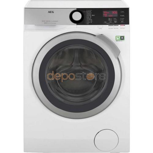 AEG L8FE74485 Elöltöltős mosógép, A+++, 8kg, Fehér (Mosógép)