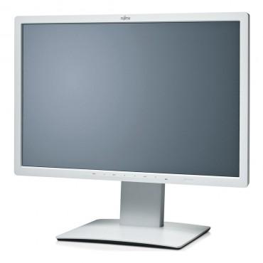 """LCD Fujitsu 24"""" B24W-7; white, B+;1920x1200, 1000:1, 300 cd/m2, VGA, DVI, DisplayPort, USB Hub, AG"""