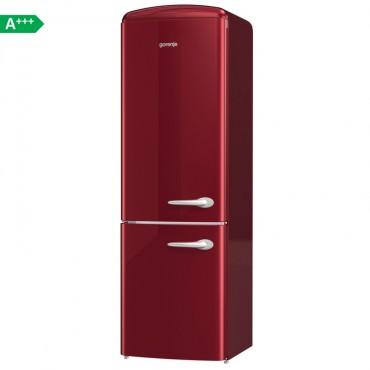 Gorenje ONRK193R-L A+++ Retro Alulfagyasztós Hűtőszekrény