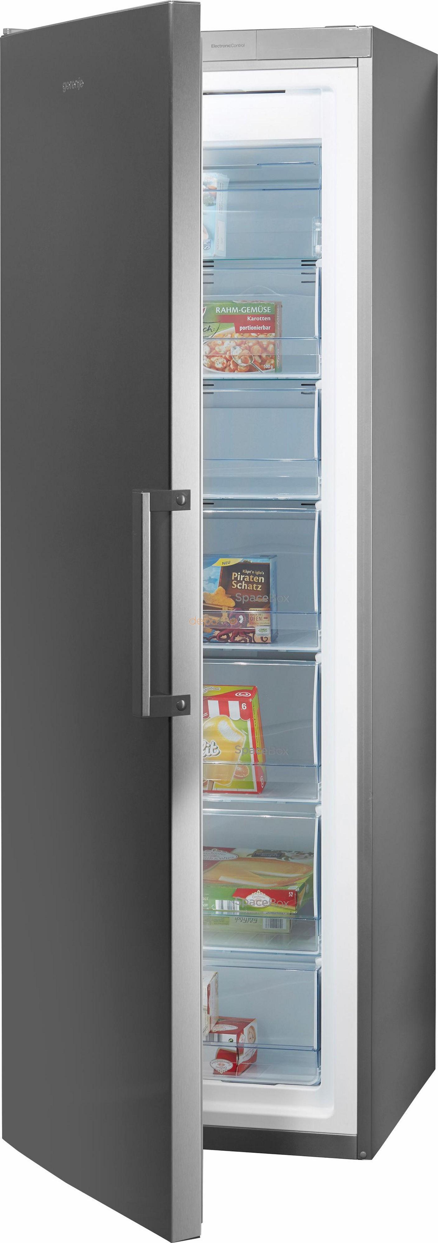 gorenje fn6192px nofrost fagyaszt szekr ny a 243 liter 185 cm inox. Black Bedroom Furniture Sets. Home Design Ideas