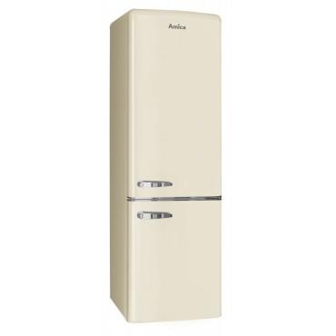 AMICA FK2965.3GAA Alulfagyasztós Retro hűtőszekrény
