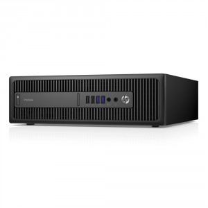 HP ProDesk 600 G2 SFF; Core i5 6500 3.2GHz/8GB RAM/256GB SSD;DVD-RW/Intel HD Graphics/Win 10 Pro 64-