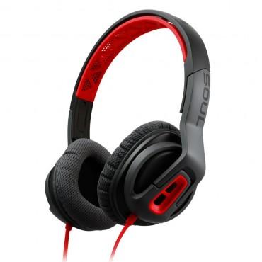 Soul TRANSFORM vezetékes fejhallgató Fekete/Piros