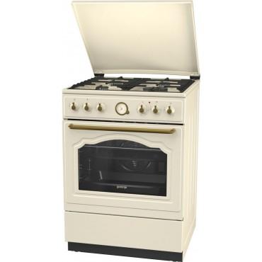 Gorenje K62CLI Kombinált tűzhely 60 cm krém szín