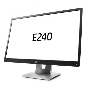 "LCD HP 24"" E240; black/silver, B+;1920x1080, 1000:1, 250 cd/m2, VGA, HDMI, DisplayPort, USB Hub, AG"