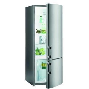 Gorenje RK61620X Alulfagyasztós hűtőszekrény, A++ 162 cm magas, INOX