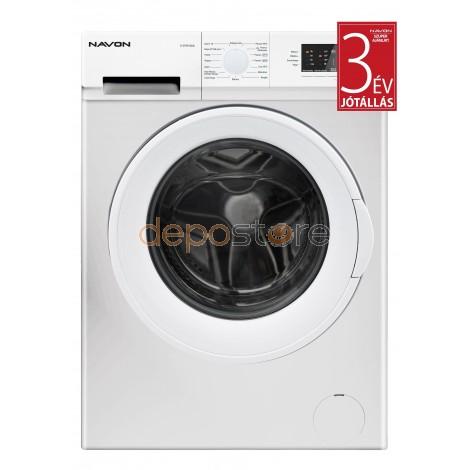 NAVON S6100AAA A+++ Keskeny elöltöltős mosógép 6 kg