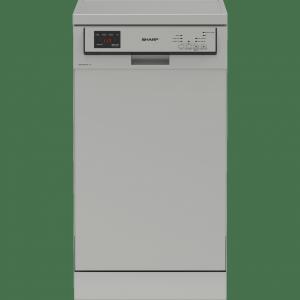 Sharp QW-HS12F47ES Szabadonálló mosogatógép, A++, 10 teríték
