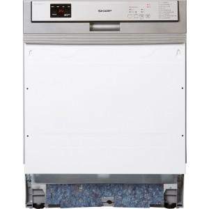 Sharp QW-HY25S423S Beépíthető mosogatógép, A+++, 15 teríték