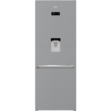 Beko RCNE560E40DZXBN A++ Szabadonálló Alulfagyasztós Hűtőszekrény 352L 192cm NoFrost